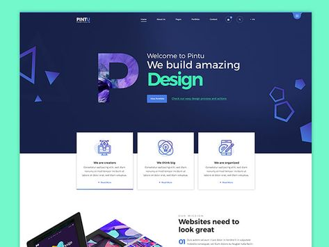 60+ Awesome Website Header design ideas for Inspiration ...