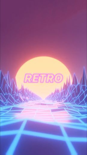 Cool Retro Live Wallpaper For Your Iphone Xs From Everpix