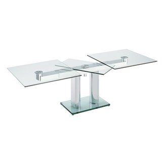 Bacher Nabucco Tisch Jager Polstermobel Esstisch Glas Ausziehbar Tisch Esstisch Glas