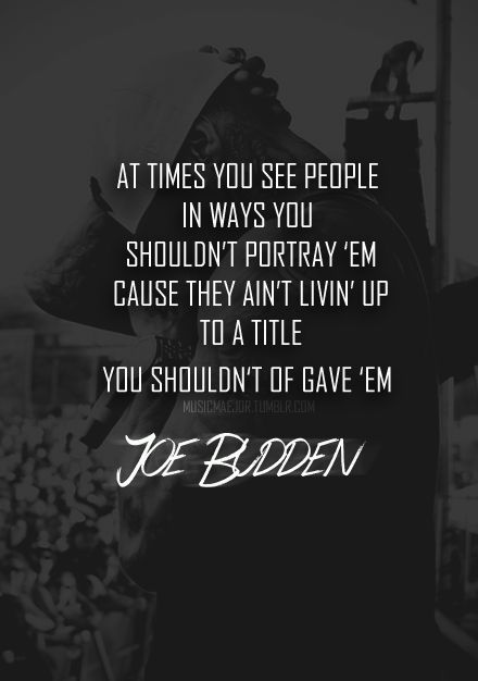 Joe Budden | Joey quotes  | Music quotes, Rap quotes, Lyric quotes