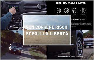 Pubblcita E Musica Spot Jeep Renagade Limited Jeep Renegade