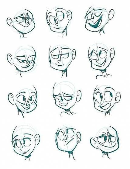 61 Trendy Drawing Poses Reference Character Design Cartoon Drawing Cartoon Faces Drawing Cartoon Characters Drawing Face Expressions