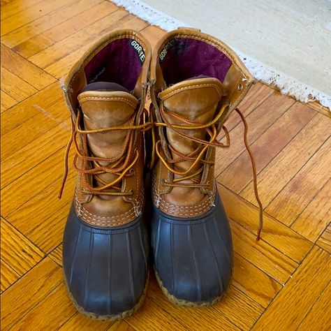 8 Bean Boots With Gore-Tex Thinsulate Lining And Shearling Sole