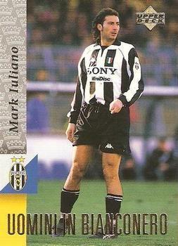 1998 Upper Deck Juventus F C 58 Mark Iuliano Front Upper Deck Juventus Trading Card Database