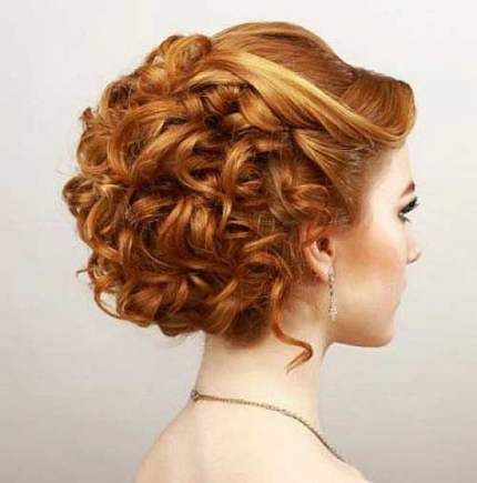 60 Trendy Hairstyles Updo Curly Short Hair Short Hair Updo Hair Styles Short Hair Styles
