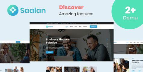 Saalan- creative multipurpose PSD Template | Stylelib