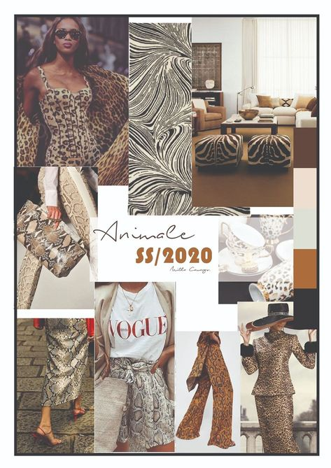 TREND FORECAST SPRING/SUMMER 2020 SS/2020 ANIMALE  #colortrends2020 #colortrendsspring19 #spring19 #trendforecast #spring2020 #trendreport #animalprint
