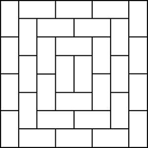 Running Bond Tile Pattern Floor Patterns Floor Coverings Plank
