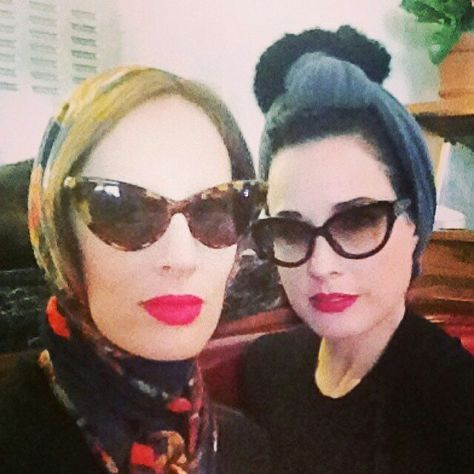 dvt #DitaVonTeese #BurlesqueQueen...