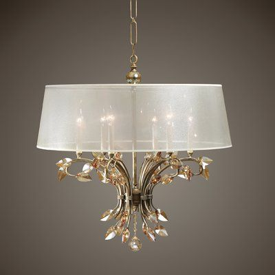Astoria Grand Wadsworth 6 Light Chandelier Chandelier Shades Light Fixtures Ceiling Light Fixtures