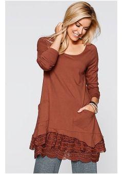 Купить туники и женские блузки в интернет-магазине QUELLE   в чём ... f0e83a645e0