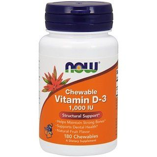 Now Foods Chewable Vitamin D 3 Natural Fruit Flavor 1 000 Iu 180 Chewables Chewable Vitamins Now Vitamins Now Foods
