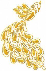 Firebird free machine embroidery design. Machine embroidery design. www.embroideres.com fireb.pes