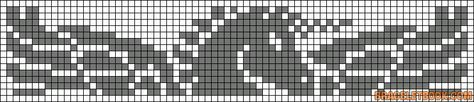 Alpha Friendship Bracelet Pattern #9973 - BraceletBook.com