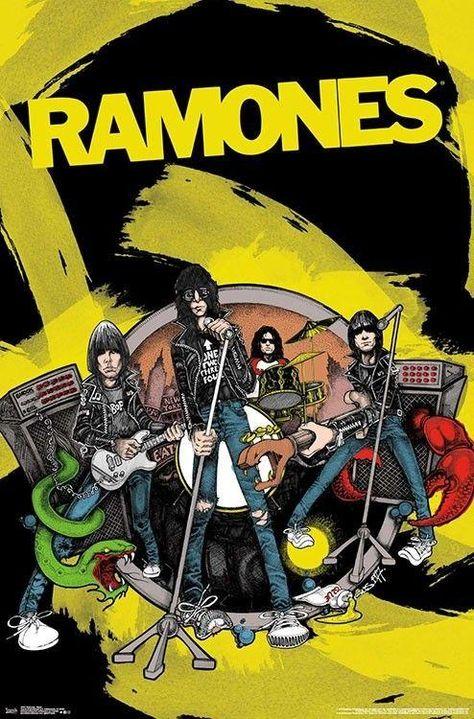 Ramones - Poster