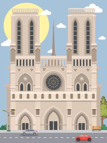 Millions Of Png Images Backgrounds And Vectors For Free Download Pngtree City Silhouette Paris Illustration Notre Dame
