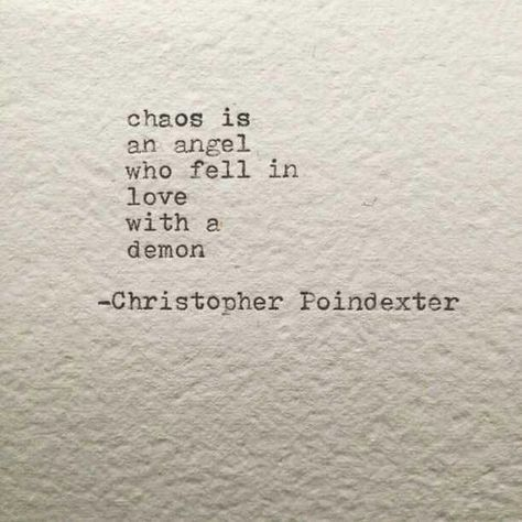 So, when your angels and your demons fall in love, sit back and enjoy the craziness of new love.