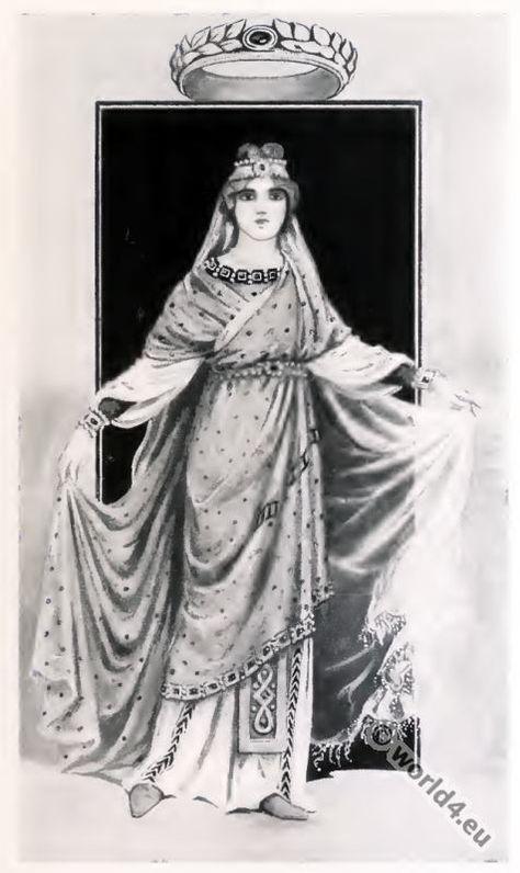 ancient_byzantine_nobel_lady_costume The stola