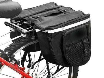 Torba Na Rower Podwojna Sakwa Rowerowa Na Bagaznik 7527266461 Oficjalne Archiwum Allegro Stroller Bags Camera Bag