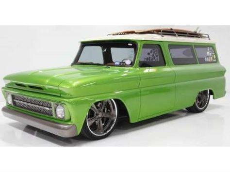 Chevrolet Suburban. Directo de 1966, muy tuneada y con un color llamativo. Este…
