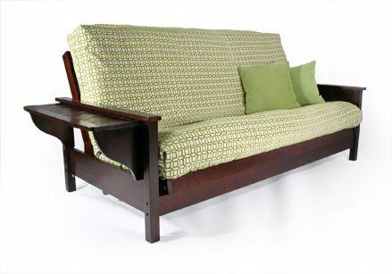 Pleasing Tiro Dark Cherry Queen Wall Hugger Futon Frame By Strata Alphanode Cool Chair Designs And Ideas Alphanodeonline