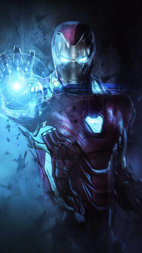 Iron Man Mark 85 Armor Avengers Endgame Iphone Wallpaper Iphone