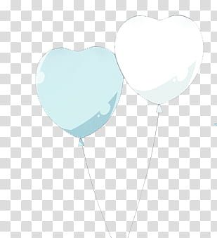 Two Teal And White Heart Shaped Balloons Transparent Background Png Clipart Transparent Background Clip Art Free Clip Art