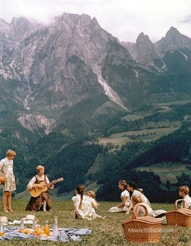 The Sound of Music - Publicity still of Julie Andrews & Angela Cartwright