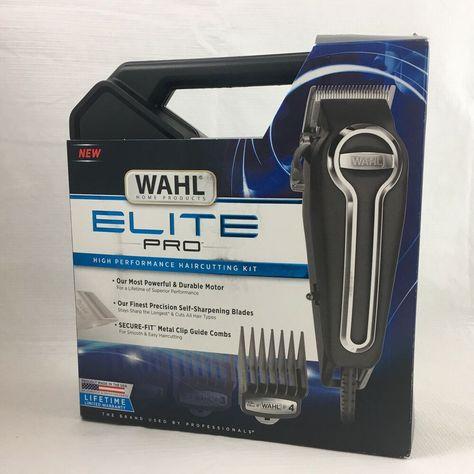 Ebay Sponsored Wahl 79602 Elite Pro High Performance Diy Professional Home Haircut Kit For Men