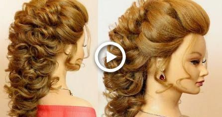 Bridal Prom Hairstyle For Long Hair Tutorial Step By Step Wedding Hairstyles Promhairup Prom Hairstyles For Long Hair Medium Hair Styles Long Hair Tutorial