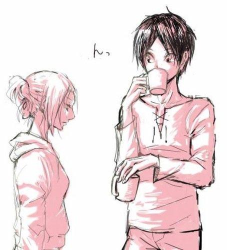 Shingeki No Kyojin Eren X Annie Fan Art Eren And Annie Eren And Annie Attack On Titan Anime Attack On Titan Ships