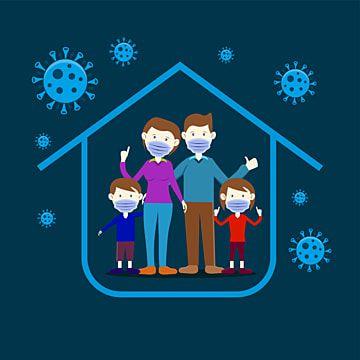Gambar Ilustrasi Family Stay At Home Untuk Mencegah Gambar Vektor Wabah 19 Clipart Keluarga Wabah Cover 19 Png Dan Vektor Dengan Latar Belakang Transparan Un Ilustrasi Ilustrator Ilustrasi Vektor