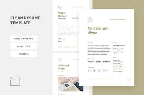 awesome Web Designer Resume Template  CV CreativeWork247 - Fonts - fonts for resume