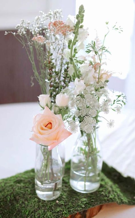 Arranjo Com Botao De Rosas Casamento Barato Decoracoes De