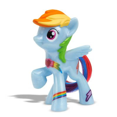 My Little Pony McDonalds Happy Meal Figure - Rainbow Dash