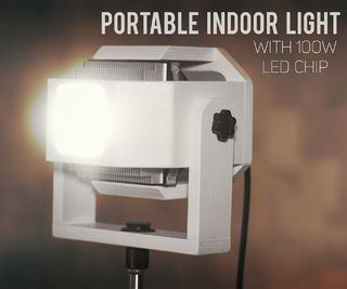 Portable Indoor Light With 100w Led Chip Indoor Lighting Portable Led