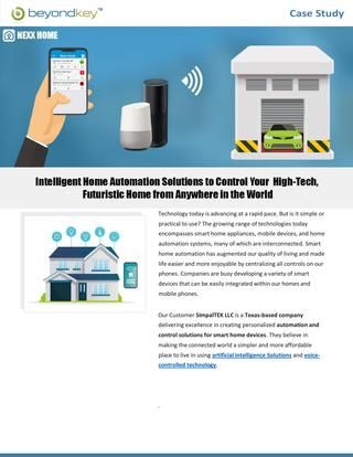 Intelligent Home Automation Solutions To Control Your High Tech Modern Home From Anywhere In 2020 Home Automation Software Home Automation Home Automation System