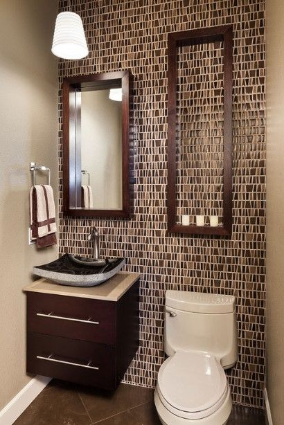 50 Half Bathroom Ideas That Will Impress Your Guests And Upgrade Your House Bathroom Design Small Modern Powder Rooms Powder Room Small