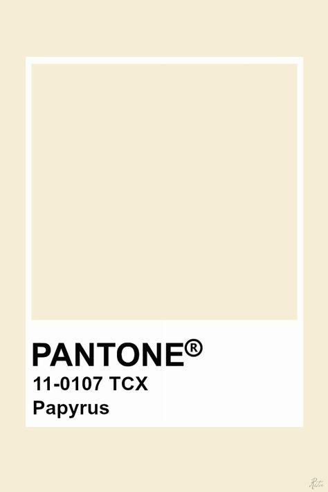 Pantone Papyrus