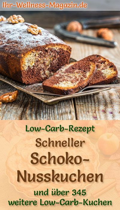Schneller Low Carb Schoko Nusskuchen Rezept Ohne Zucker In 2020 Healthy Dessert Recipes Healthy Dessert Recipes Easy Healthy Desserts Easy