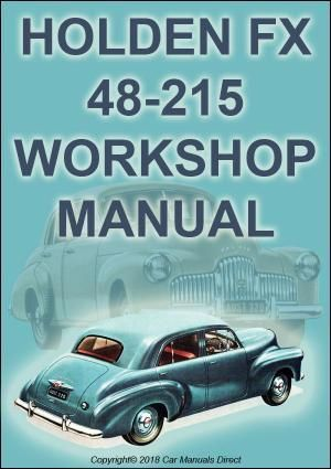 HOLDEN FX 48-215 Workshop Manual | carmanualsdirect | Door
