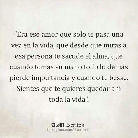 Es ese amor, que tu quieres en tu vida siempre