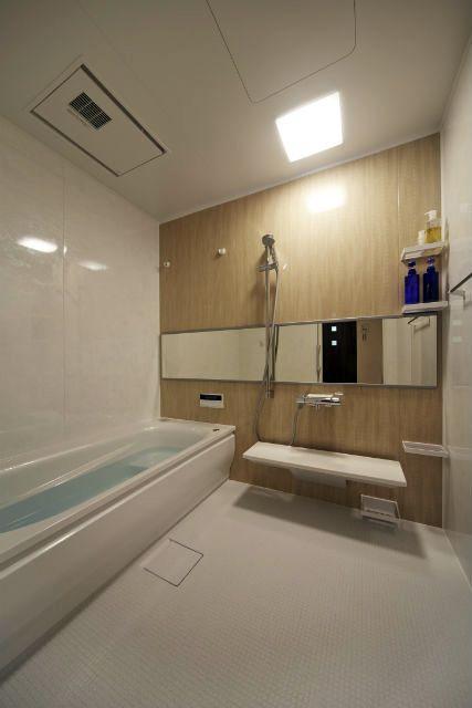 施工事例 浴室 お風呂リフォーム サイズアップして広々とした浴室