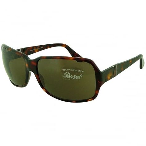 a590cd2735 Persol Ladies Havana Oversized Rectangular Sunglasses With Flexi Stem And  Bronze Tinted Lenses. Model Number  2733-S 24 3. Defined by their refined  ...