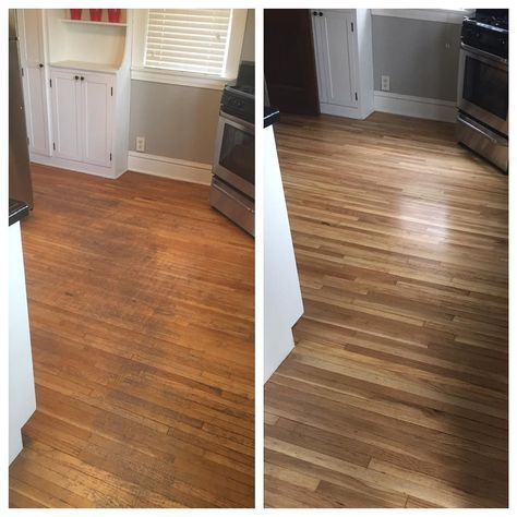 Before And After Floor Refinishing Looks Amazing Floor Hardwood Minnesota Vloeren Parket