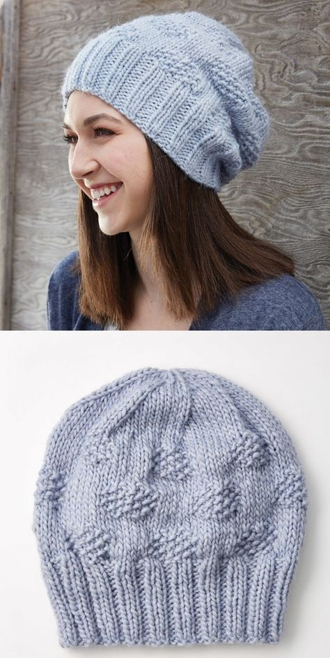 20 Free Slouchy Hat Knitting Patterns To Download Now Hats And