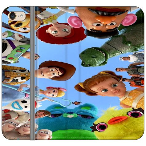Toy Story 4 Photoshoot With Friends Character iPod 6 Flip Case | Frost – Frostedcase