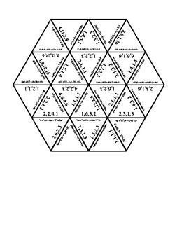 Balancing Chemical Equations Tarsia Puzzle A fun way to balance chemical equations. Every equation has 4 chemicals, and this puzzle has 30 equations to solve. This puzzle would also make a great table activity for a group of students to work on together!