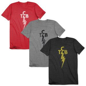 Elvis Presley TCB Licensed Juniors V-Neck Tee Shirt