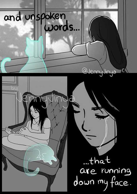 """Last words to Mr. Death from Luna, """" I'll protect her with all my soul """". (Comic name : Grief), by the reaper comic artist Jenny Jinya...❤ - Imgur"""